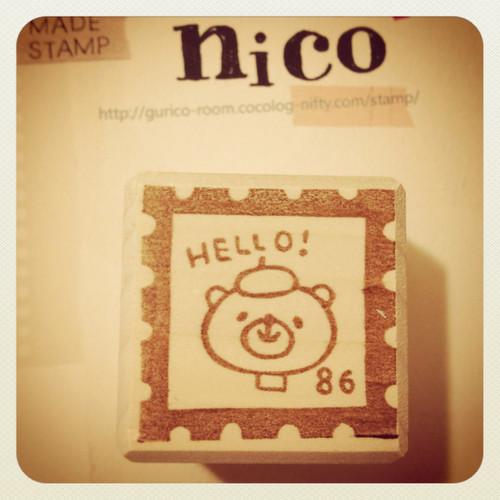切手型HELLO